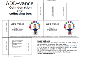 ADD-vance donation box